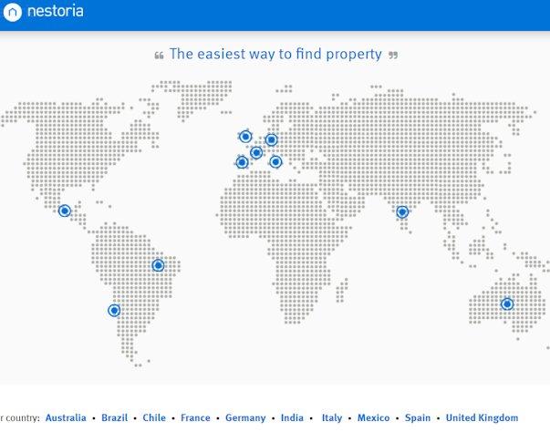 Über nestoria.com verwaltet das Unternehmen die weltweite Immobiliensuche als property search engine